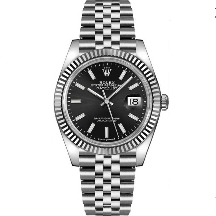 Replica Rolex Datejust 36 Steel Black Dial 126234