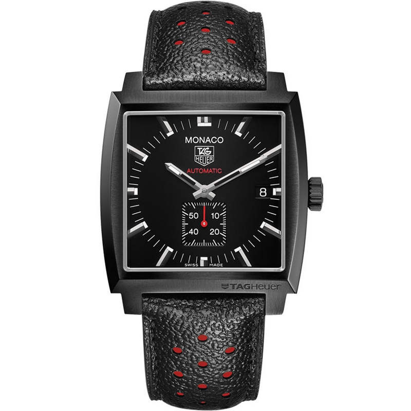 Replica TAG Heuer Monaco Calibre 6 Full Black WW2119.FC6338