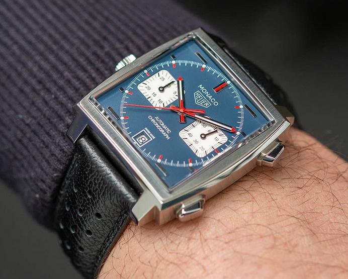 Replica TAG Heuer Monaco Calibre 11 Chronograph Steve McQueen