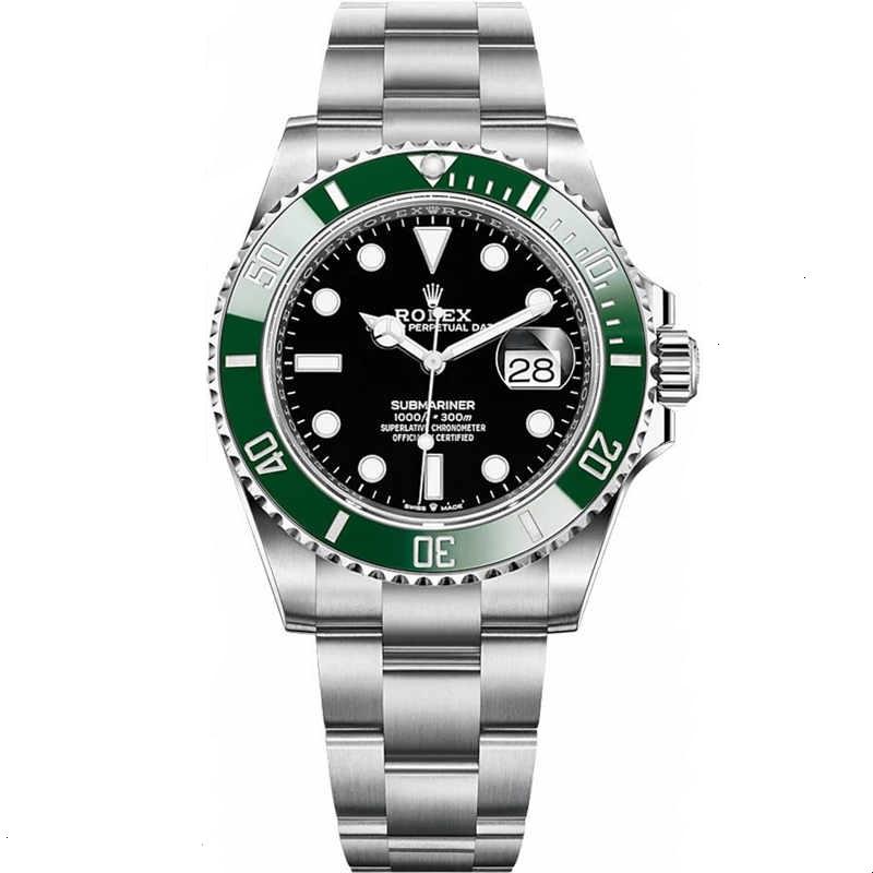 Replica Rolex Submariner Date Green Bezel Black Dial 126610LV
