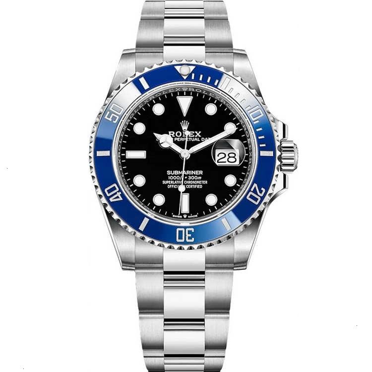 Replica Rolex Submariner Date Blue Bezel 126619LB