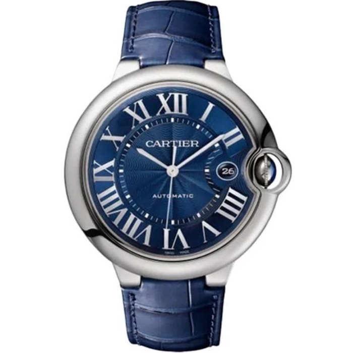 Replica Cartier Ballon Bleu de Cartier 42mm Blue Dial WSBB0027