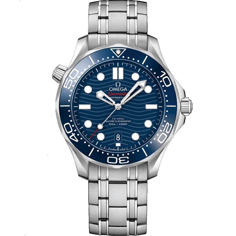 Replica Omega Seamaster Diver 300M 42mm Blue Dial 210.30.42.20.03.001