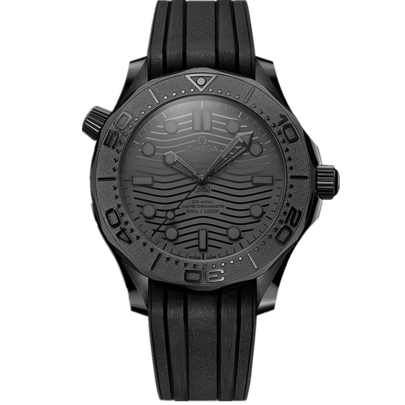 Replica Omega Seamaster Diver 300M Black Black 210.92.44.20.01.003