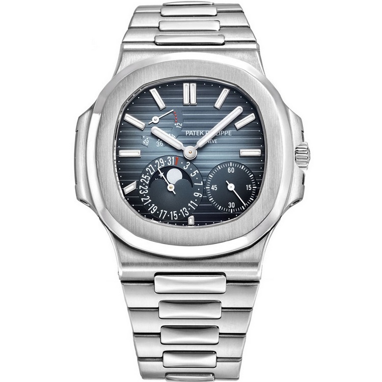 Replica Patek Philippe Nautilus Moon Phase Stainless Steel 5712/1A-001