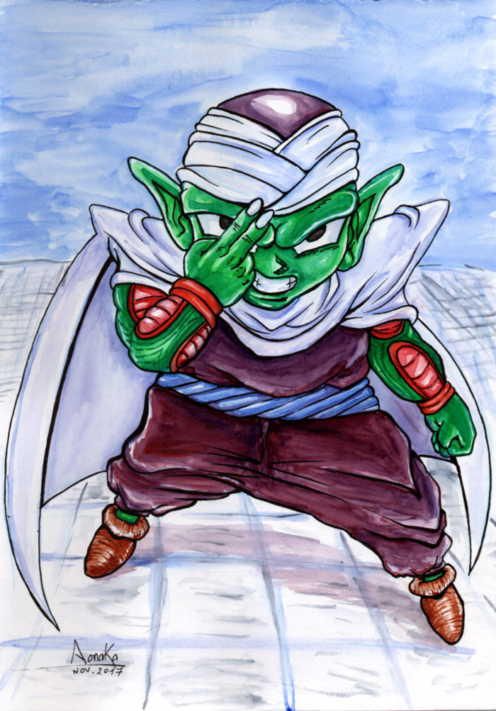 Fan Art Dragon Ball Z - Chibi Piccolo 01