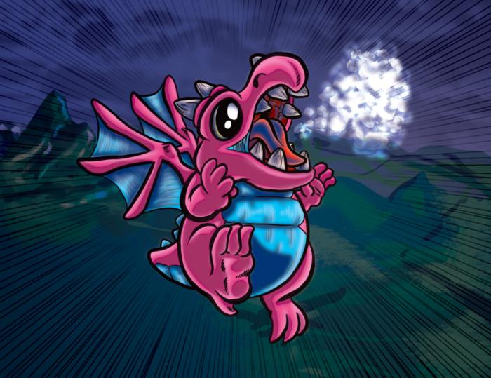 Drekki - Carte dragons inoffensif