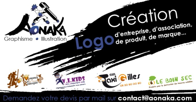 Aonaka - Création de Logo d'entreprise, d'association, de produit, de marque ou autre