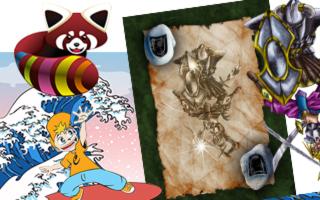 Aonaka - Illustration et Mascottes