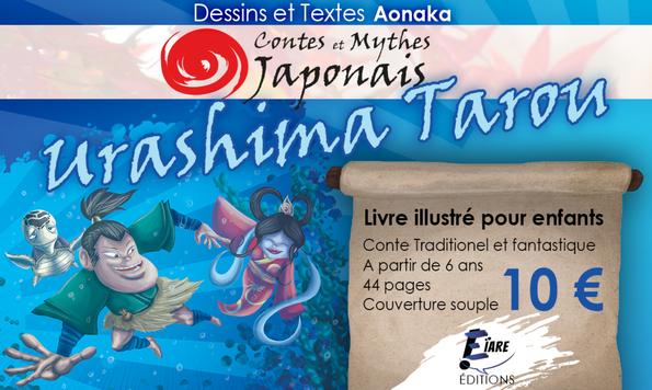 Contes et Mythes Japonais - Urashima Tarou en vente chez Eïare Éditions