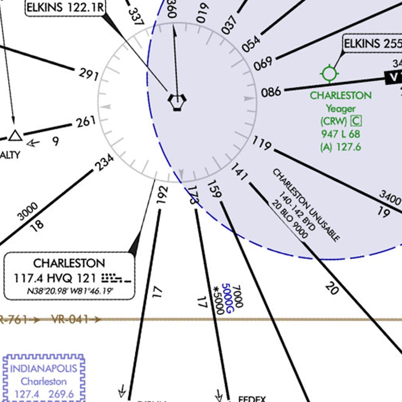 hight resolution of ifr flight lunken to logan
