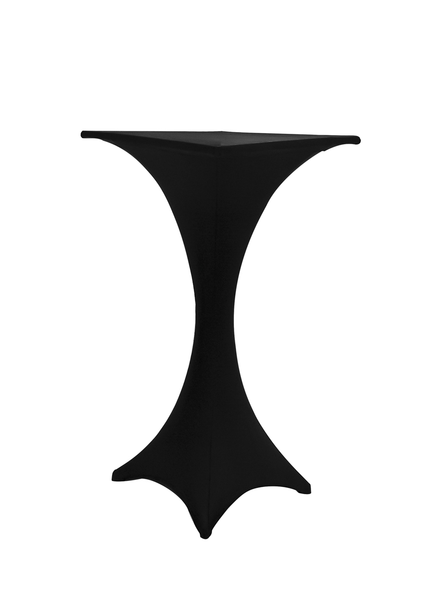 places to borrow tables and chairs dining room chair with arms all occasions party rentals triangular cocktail table black spandex cover