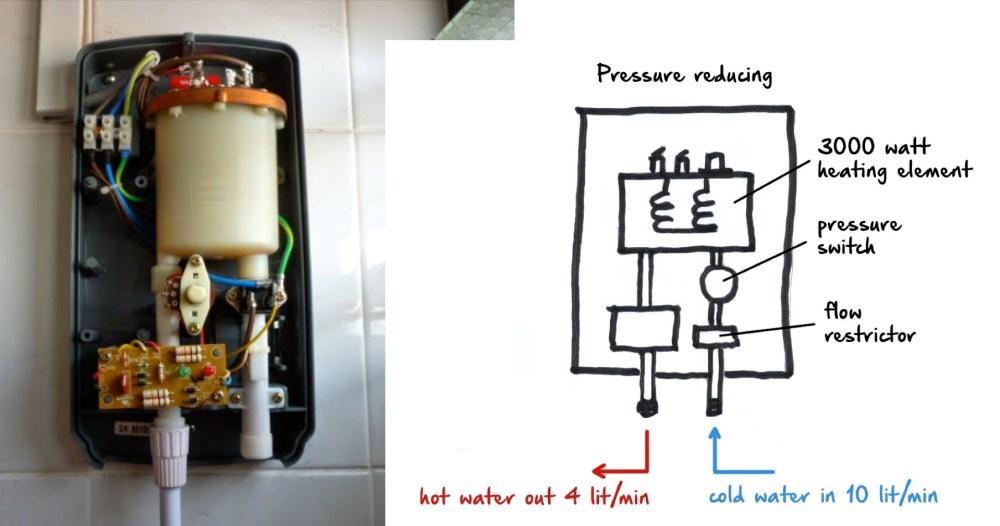 medium resolution of pressure reducing water heating system in singapore