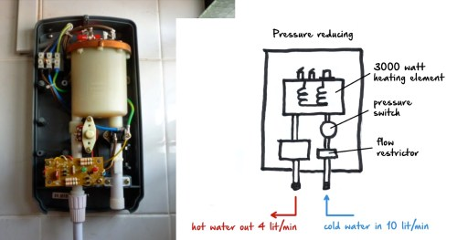 small resolution of pressure reducing water heating system in singapore