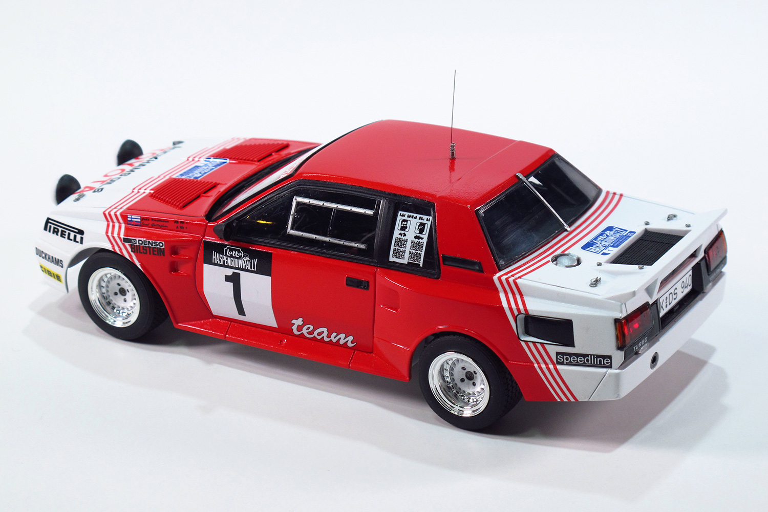 1/24 Toyota Celica TA64 '85 Haspen gow rally specification-Scheduled