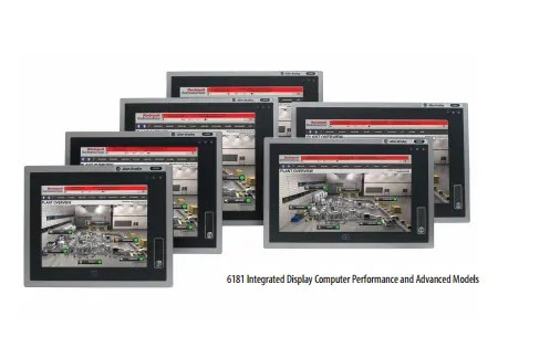 6181 Integrated Display Computers