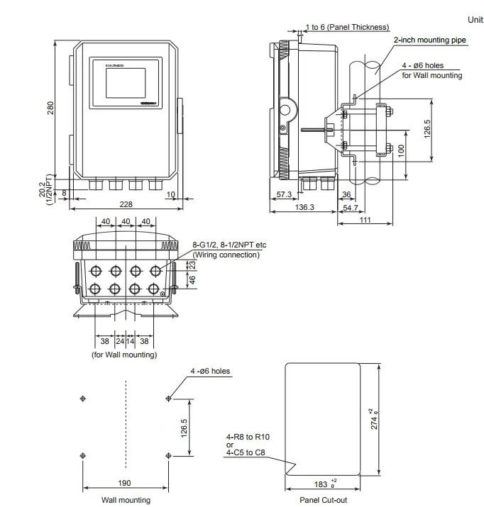Yokogawa Oxygen Analyzer Module ZR22G/ZR402G