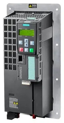 SINAMICS G120P in degree of protection IP20, PM230 Power Module, frame size FSC Push Through (with Control Unit and BOP‑2 operator panel)