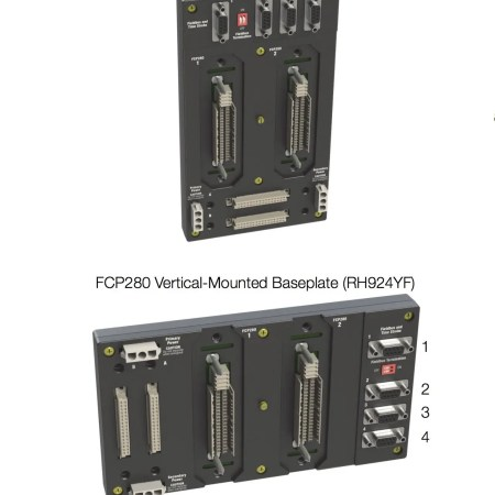 Figure 5. FCP280 Vertical and Horizontal Mounted