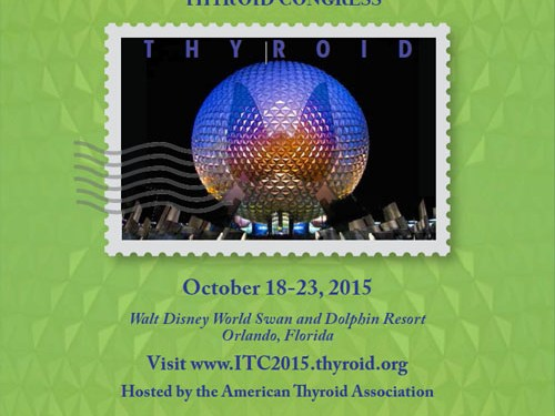 The 15th International Thyroid Congress, 18-23 Oct 2015, Orlando, USA