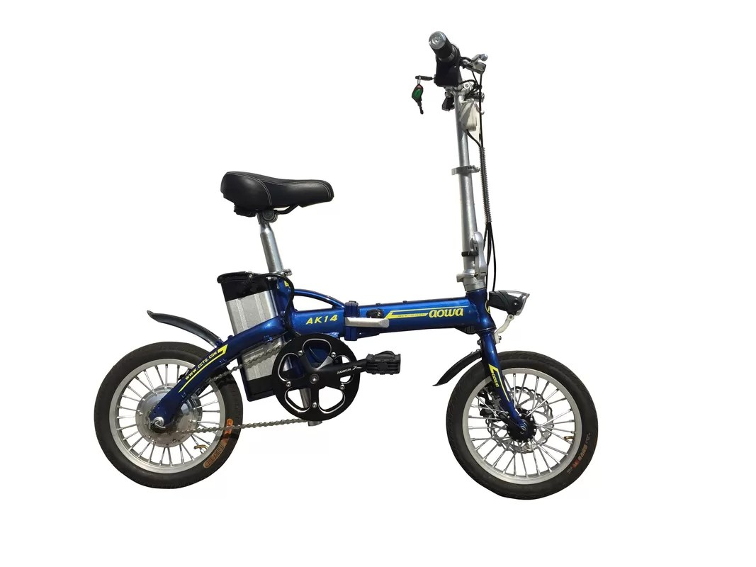 36v 8a Lightweight Folding Electric Bikes Foldaway