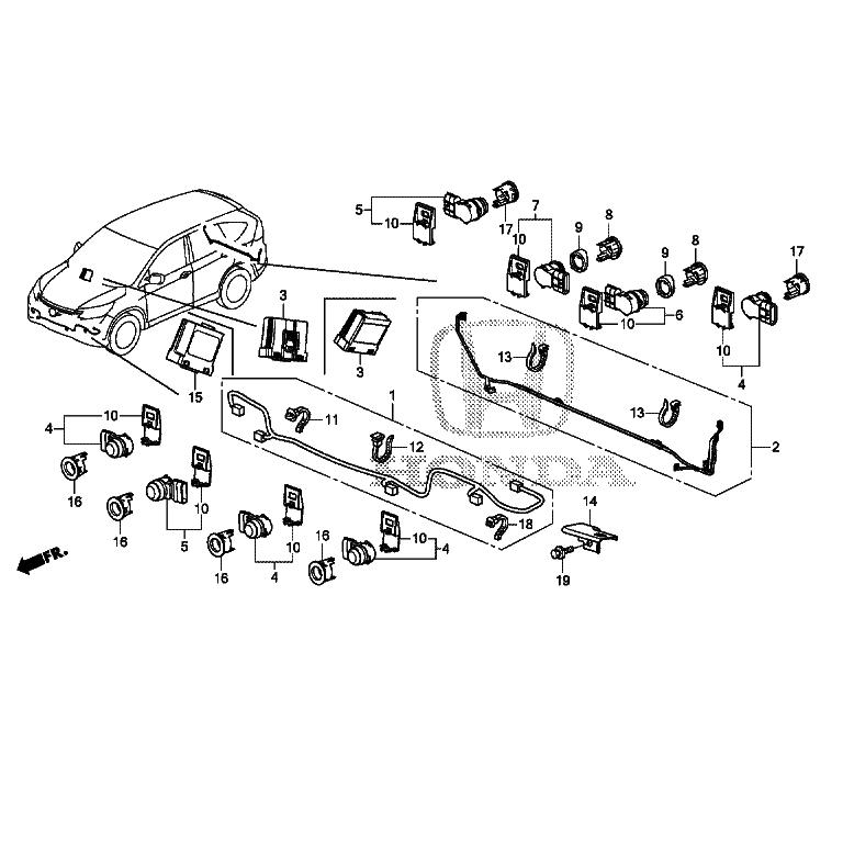 Аксессуары для автомобилей Хонда в Москве страница 2 из 36
