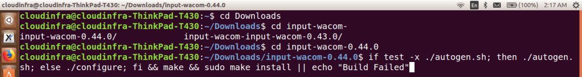 wacom ubuntu