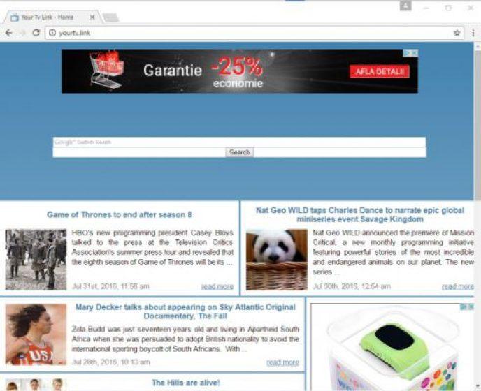 Google Custom Search malware