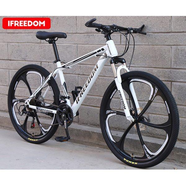 26 INCH Bike 21-Speed Mountain Bicycle Aluminium Double Disc Brake MTB Bike Bisiklet Bicicleta Mountain Road Cycling mtb 6.18 1