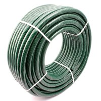 Garden Hose Pipe Water Tube PVC Reinforced (15m - 50m ...