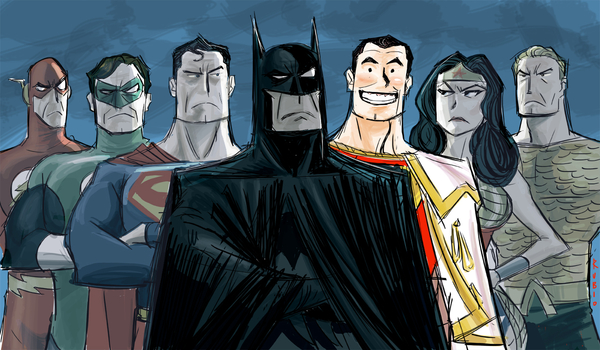 The Justice League as the Greek Gods - A Place to Hang ...