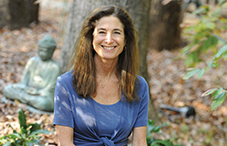 Psychologist and Buddhist meditation teacher Tara Brach blends Buddhist and psychological teachings in ways that are easy for people to apply in their daily lives. (credit: Lloyd Wolf)