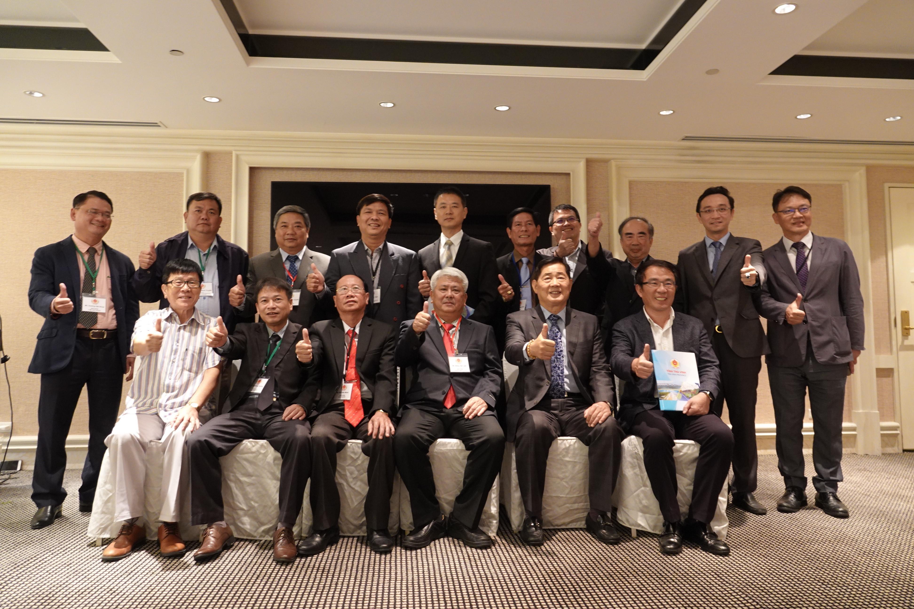 邀請越南茶榮省參訪團來台舉辦投資說明會