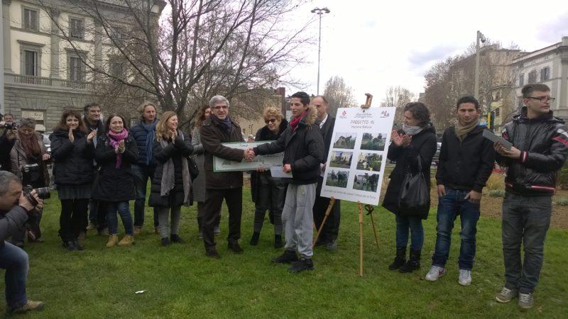 I Ragazzi Del Centro Giustizia Minorile Di Firenze Per I Giardini Della Città 6 Febbraio 2014