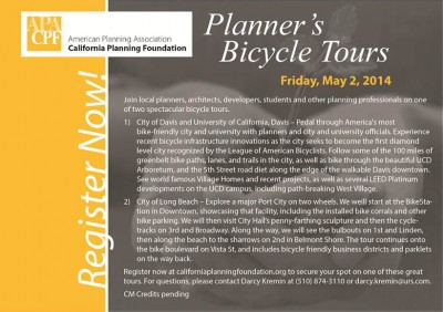 Bicycle Tours Register Now