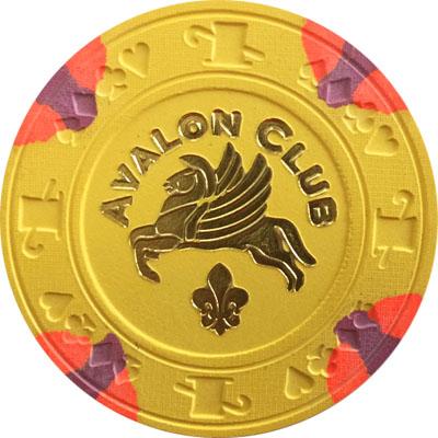 Paulson avalon poker chips