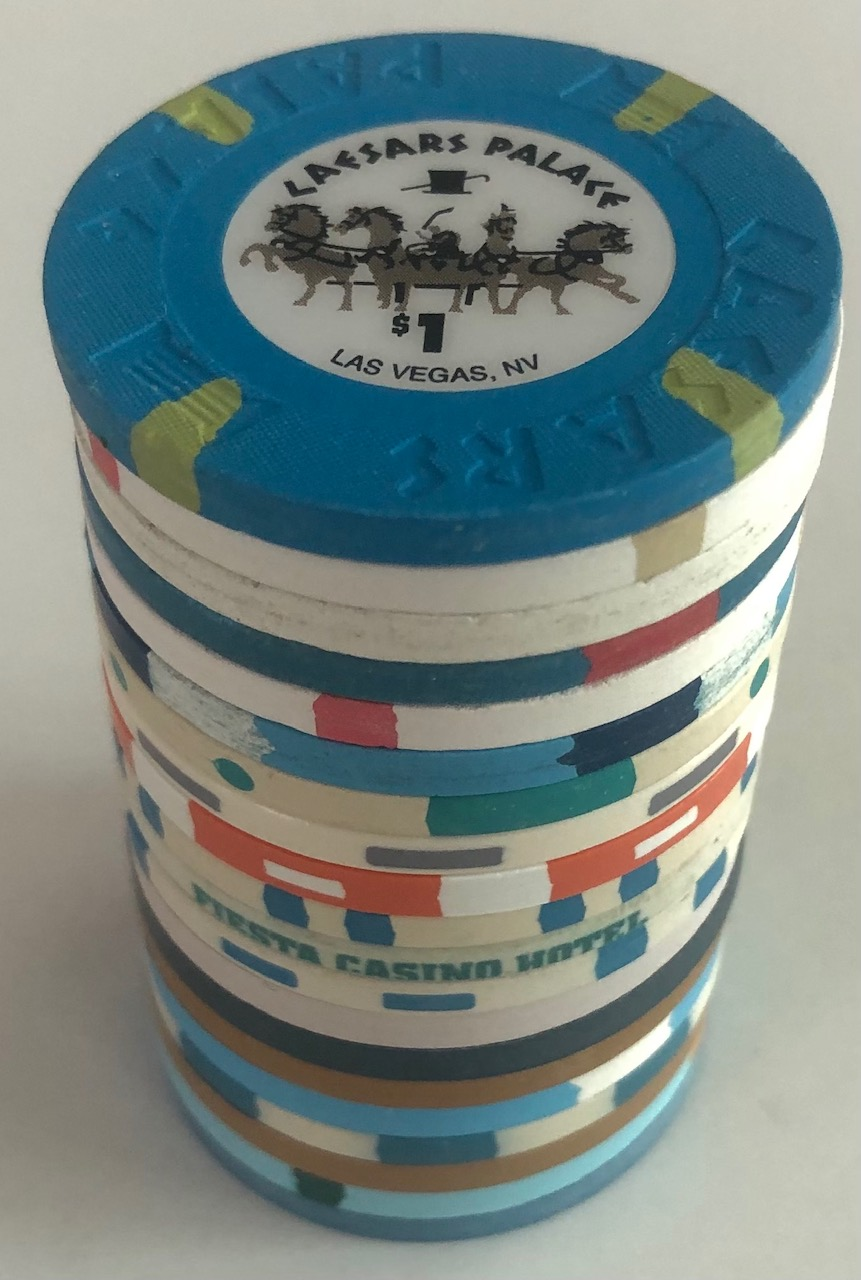 Barrel of Nevada Casino Chips