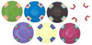 Custom Milano Poker Chips