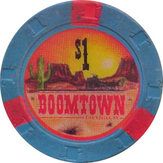 Boomtown $1 Las Vegas Casino Chip