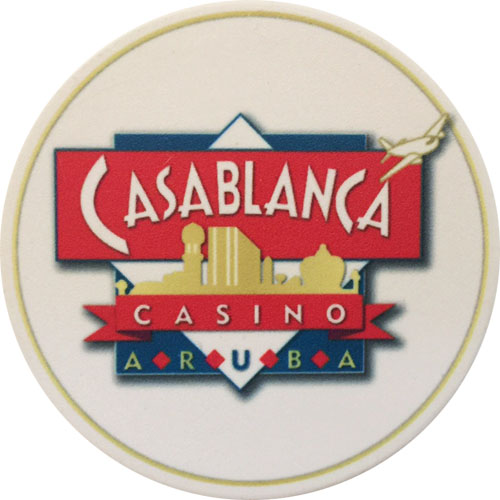 Casablanca Casino Poker Dealer Button