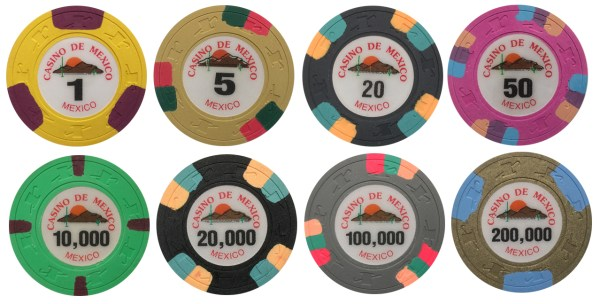 Casino De Mexico Paulson Poker Chips