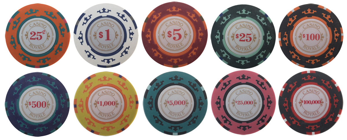 Casino Royale Poker Sample Chips