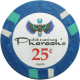 Pharaoh's Poker Chips - 25¢ Pharaoh chips