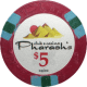 Pharaoh's Poker Chips - $5 Pharaoh chips