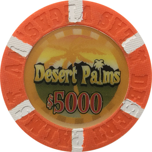 Desert Palms Poker Chips