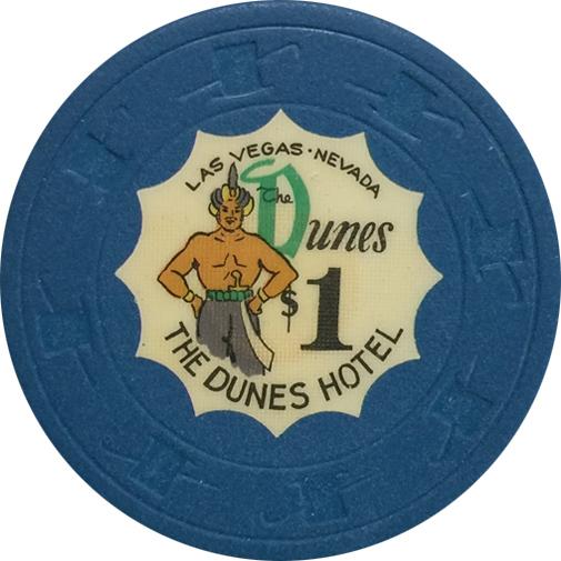 Dunes Las Vegas Casino $1 Chip