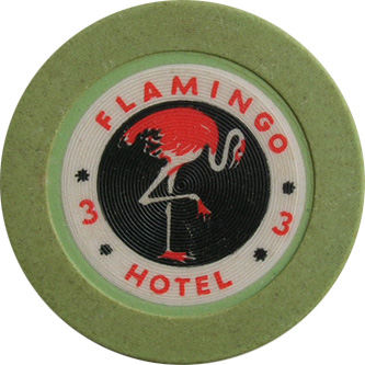Flamingo Bugsy Siegel Las Vegas Casino Chip
