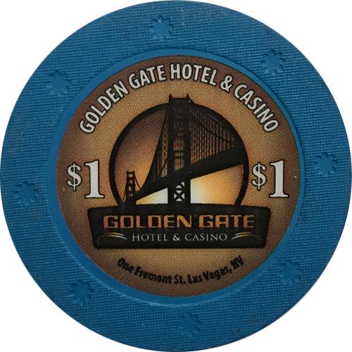 Golden Gate $1 Casino Chip