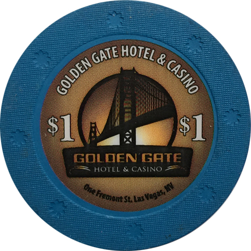 Golden Gate $1 Casino Chip