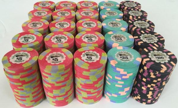 Grand Casino Paulson Poker Chips